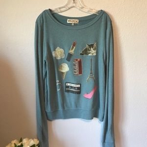 Wildfox lightweight sweatshirt medium